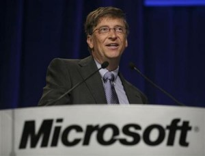 Portait de Bill Gates