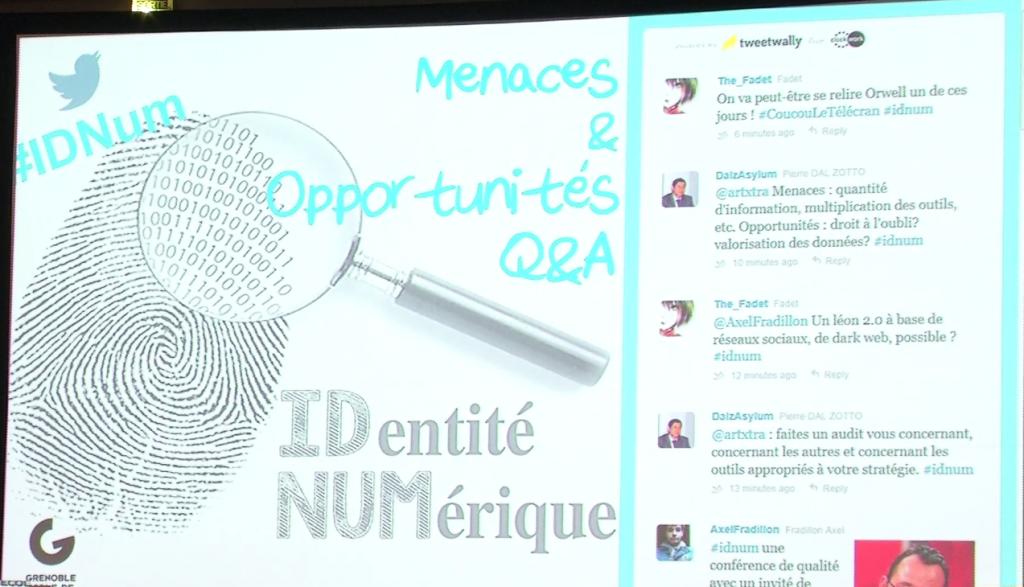 Capture de la Vidéo d'un Live Tweet sur une conférence