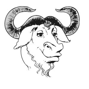 Logo tête de GNU